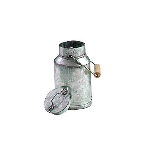 Metall-Milchkanne, Höhe ca. 4,8cm, Ø 3cm