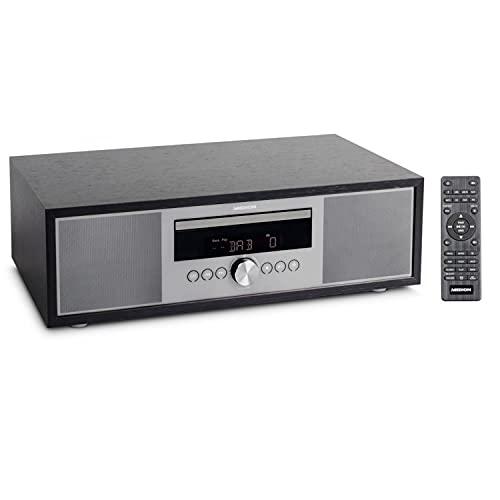 MEDION P64145 All in One Audio System (DAB+, CD, MP3, PLL UKW Radio, USB, Kompaktanlage, Elegantes Design, Weckfunktion, Sleep Einschlafautomatik)
