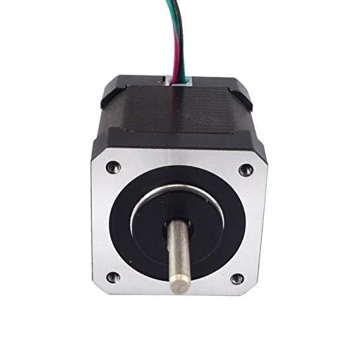 Doppelwellen Nema17 Schrittmotor 4-adrig 48 mm 59 Ncm 2A Nema 17 Schrittmotor für 3D-Drucker CNC XYZ 3D-Druckzubehör