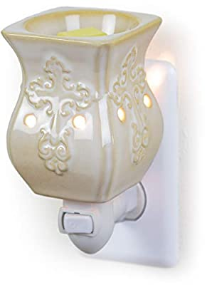 Antique White Ceramic Electric Fragrance Warmer
