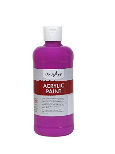 Handy Art Student Acrylic Paint 16 ounce, Fluorescent Violet