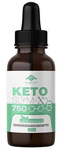 Ketoslym-X 750 | K Drops | Ketogen Tropfen | Keto | Stoffwechsel | Vegan | schnell & EXTREM | 10ml