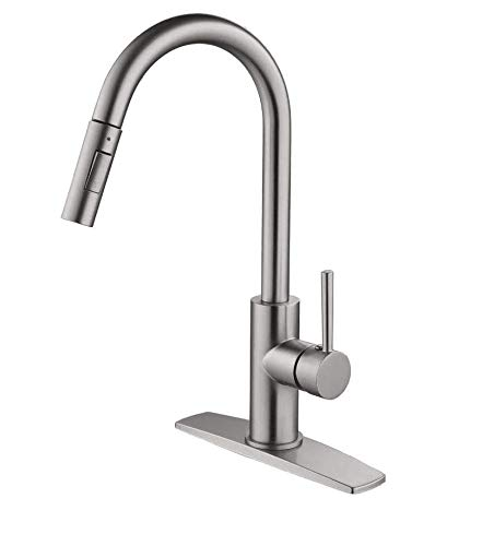 Purchase Kitchen Faucet with Pull Down Sprayer, Kitchen Faucet Sink Faucet with Pull Out Sprayer, Si...