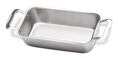 small stainless steel loaf pan - 6
