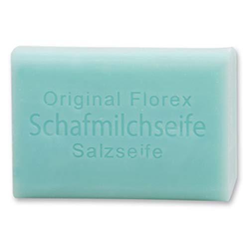 Florex Schafmilchseife - Salz - besonders feuchtigkeitsspendend auch für die Gesichtsreinigung 100 g