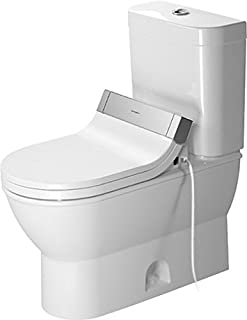 Duravit 2126010000 Two-Piece toilet Darling New white siphon jet, elongated, HET, Large,
