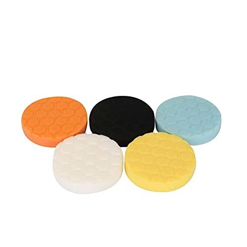Youyijia 5Pcs 5 inch Polishing pads Buffing Pads Car Polishing Kit Buffing Wheel for Auto Car Polishers