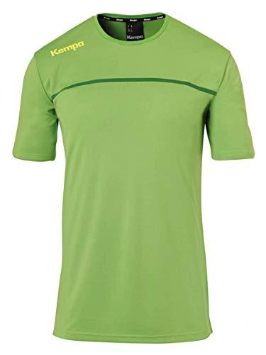 Kempa Kinder Emotion 2.0 Poly Shirt Poloshirt, Hope grün/Dragon grün, 116
