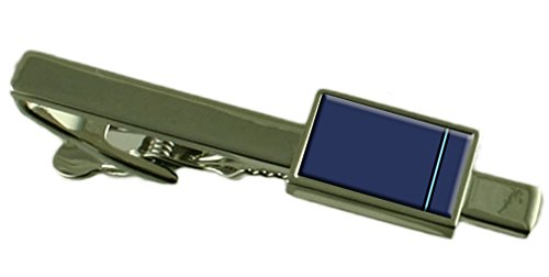 Select Gifts RAF Airforce Abzeichen Dienstgrad Pilot Officer Tie Clip graviert Personalisierte Box