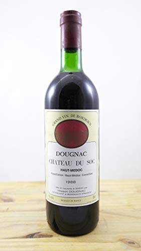 Wein Jahrgang 1988 Château du Soc Flasche