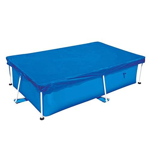 Bâche De Protection pour Piscine, Rectangulaire, Rainproof Dustproof UV-Resistant, 220X150CM / 260X160CM / 300X200CM / 400X211CM