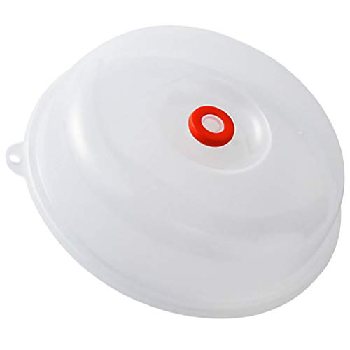 Hemoton - Copertura per piano cottura a microonde, a forma di campana, impermeabile all'olio, anti-schizzi, per la cucina o il pranzo