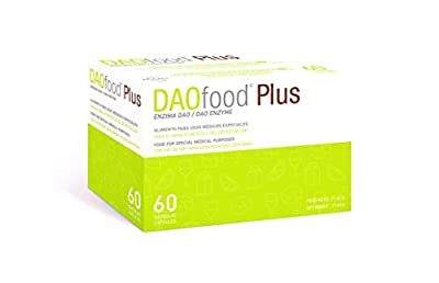DAOfood - Treatment of DAO Deficiency - 60 Capsules with Gastro-Resistant pellets