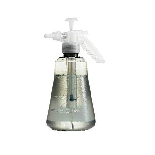 Disparador De Botella De Spray De Niebla Fina De 1.5L Pulverizador De Agua Pulverizador De Bomba De Presión Manual Para Soluciones De Limpieza Jardinería Y Limpieza Del Hogar (Grey)