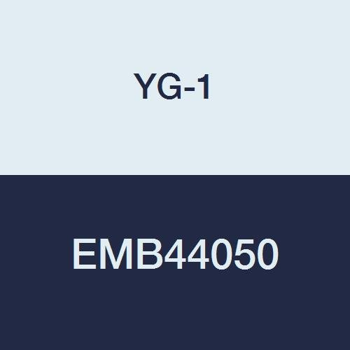 YG-1 EMB44050 5.0 mm Carbide V7 Mill INOX Corner Radius End Mill, 4 Flute, Short Length, 54 mm Length