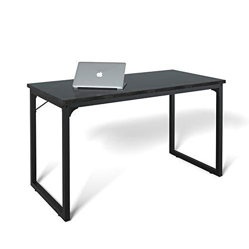 Computer Desk 39', Modern Simple Style Desk for Home Office, Sturdy Writing Desk, Coleshome, Black