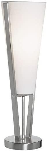 ✅Dainolite 83322-SC Table Lamp with Linen Shade, Satin Chrome #Lighting & Ceiling Fans