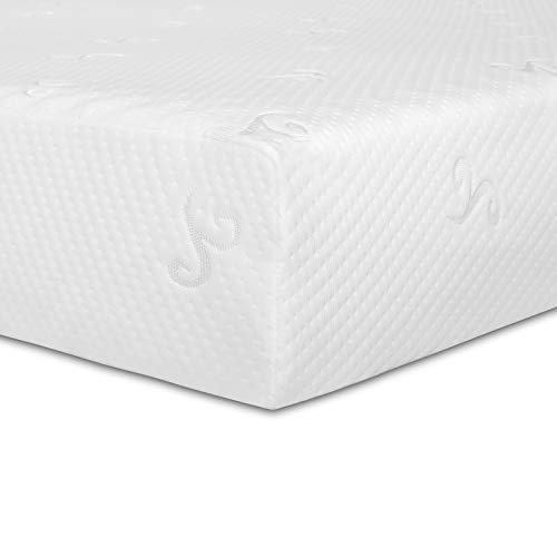 Good Nite Materasso in schiuma fredda, altezza 18 cm, durezza H2/H3, a 7 zone, con rivestimento in maglia rimovibile (200 x 90 cm)