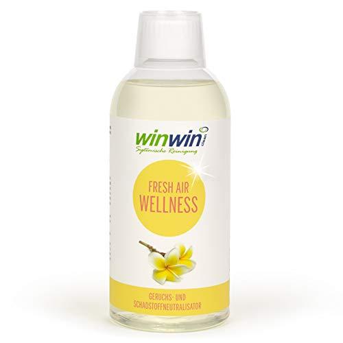 winwin clean Systemische Reinigung - Fresh AIR LUFTREINIGUNGS-Konzentrat 'Wellness' 500ML I AUCH BESTENS GEEIGNET FÜR proWIN AIR Bowl