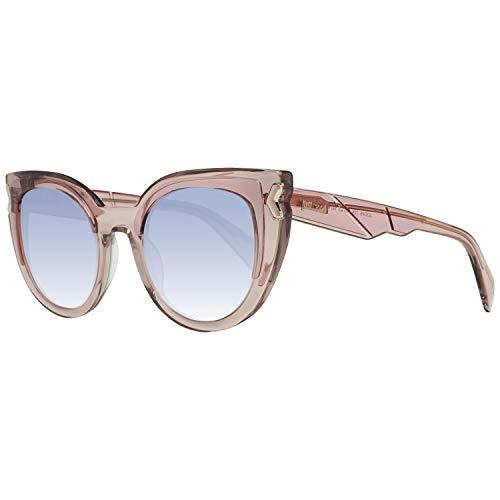 Just Cavalli Unisex-Erwachsene JC834S 72X 49 Sonnenbrille, Pink (Rosa Luc/Blu Specchiato), 49