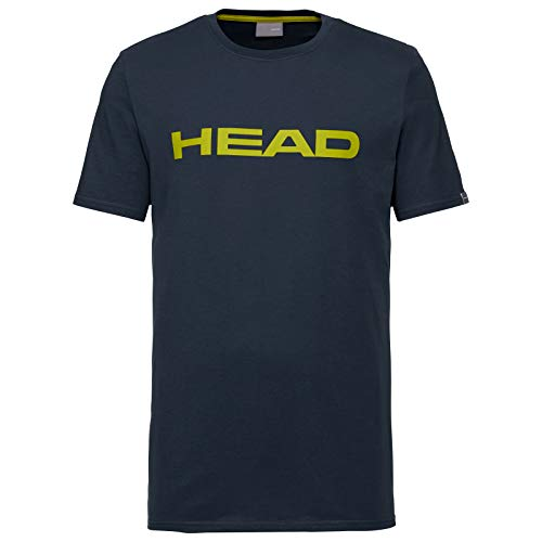 HEAD T-Shirt Club Ivan pour Homme L Dark Blue/Yellow
