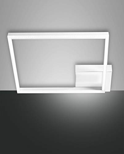FABAS LUCE 3394-61-102 PLAFONIERA BARD LED DIM 39W 3510lm COLORE BIANCO L:42X42 cm
