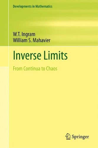 Image OfInverse Limits: From Continua To Chaos (Developments In Mathematics) By Ingram, W.T., Mahavier, William S. (2011) Hardcover
