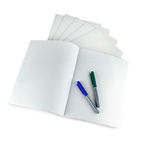 Hygloss Products White Blank Books