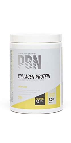 PBN - Bote de proteína de colágeno, 454 g (sabor limón)