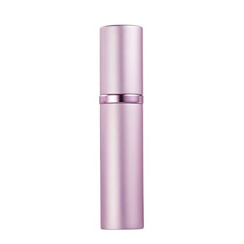 AsaNana Parfümzerstäuber nachfüllbar, Befülltechnik ohne Trichter leer Parfüm Zerstäuber Sprühflasche für Reise Handtasche unterwegs - 5ml (Pink)