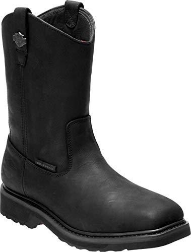 HARLEY-DAVIDSON FOOTWEAR Men's Altman CT Western Boot, Black, 9.5