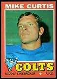 1971 Topps Regular (Football) card#80 Mike...