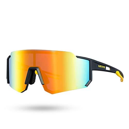 LBYSK Gafas De Sol Polarizadas En Bicicleta, Gafas De Sol De Ciclismo, Gafas De Bicicletas, Deporte De Conducción De Ciclismo Vasos Polarizados para Hombres Mujeres,D