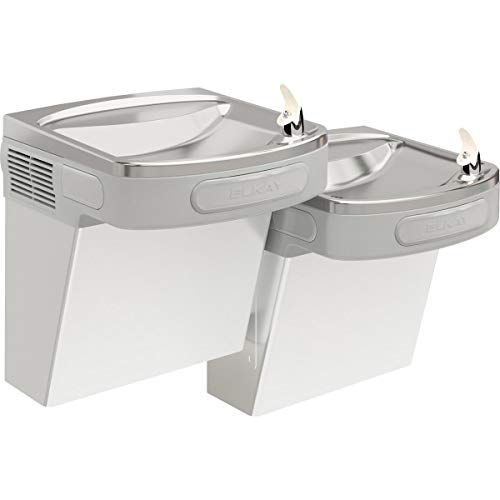 Elkay EZSTL8SC Wall Mount Bi-Level ADA Versatile Cooler, Non-Filtered, 8 GPH, Stainless