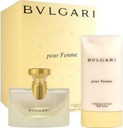 BVLGARI By Bvlgari For Women EAU DE PARFUM SPRAY 3.4 OZ & BODY LOTION 6.8 OZ