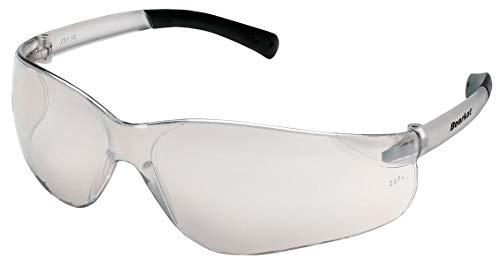 MCR Safety BK119 Bearkat Clear Mirror Lens Safety Glass, Standard, Indoor/Outdoor