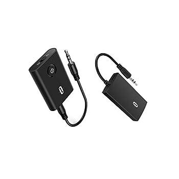 TaoTronics Portable Bluetooth Audio Transmitter Bundle with TaoTronics Bluetooth Audio Adapter