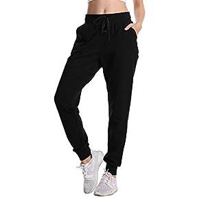 Women's Sweatpants Yoga Jogger Running Pants Lounge Loose Drawstring ...