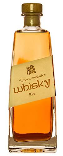 Schwarzwälder Whisky (1 x 0.5 l) Rye 42% Vol. deutscher Whisky aus dem Schwarzwald