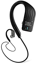 JBL ENDURANCE SPRINT - Wireless headphones, bluetooth sport earphones with microphone, Waterproof, up to 8 hours battery, quick charge, works with Android and Apple iOS (black)