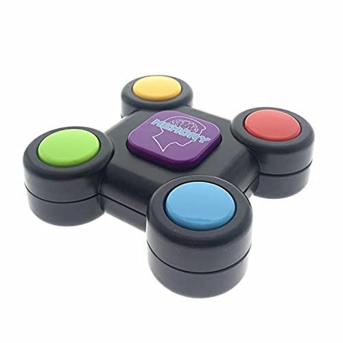 Bestshop Simon Game Console Gioco Portatile con Luci E Suoni, Memory Game Elettronico per Bambini dagli 8 Anni in su Incoraggia E Motiva I Bambini