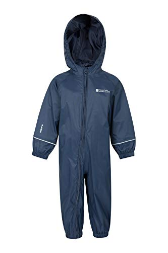 Mountain Warehouse Puddle Kids Printed Rain Suit