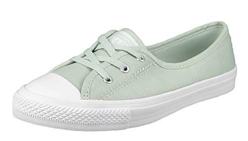 Converse Chucks 567716C Mint Chuck Taylor All Star Ballet Lace Slip - Green Oxide Ghost Green, Groesse:37.5 EU