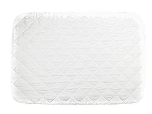 New CribCulture Portable Mattress Pad Cover Protector – Elephant Pattern Designed to Fit Graco Pac...