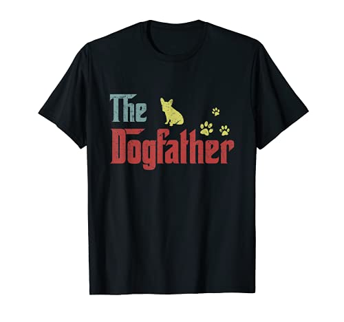 The Dogfather - funny dog, funny French Bulldog T-Shirt