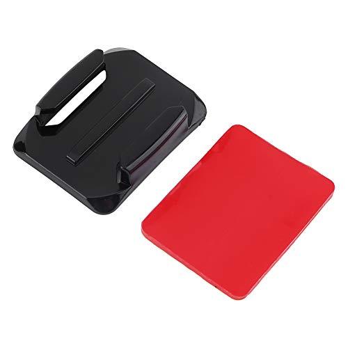 Soporte lateral adhesivo deportivo ligero ajustable, soporte lateral para casco, negro para cascos Accesorios de cámara Piezas de fijación Soporte de cámara