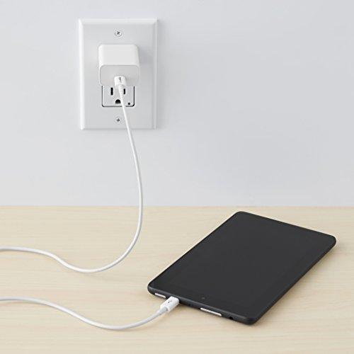 Amazon Basics - Verbindungskabel, USB Typ C auf Micro-USB Typ B, USB 2.0, 0,9 m, Weiß