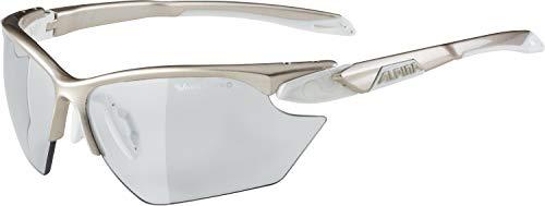 ALPINA TWIST FIVE HR S VL+ Sportbrille, Unisex– Erwachsene, prosecco-white, one size