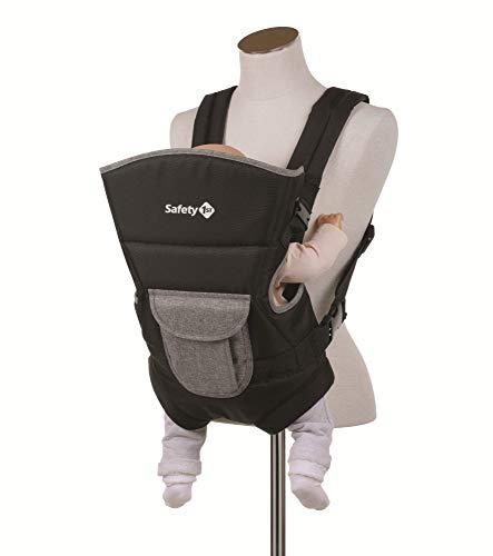 Safety 1st 2689666000 Babytrage Youmi, ergonomische, verstellbare Bauchtrage mit 2 Tragepositionen, schwarz