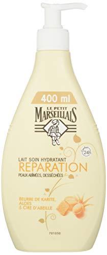 Le Petit Marseillais Leche Hidratante reparación de la piel dañada y desecadas 400 ml